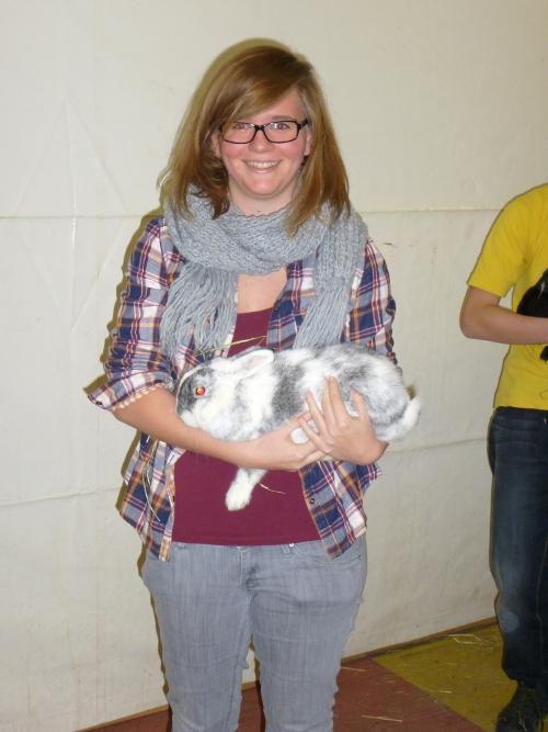 3. Platz Kaninchen Jugend