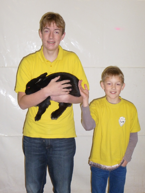 2. Platz Kaninchen Jugend